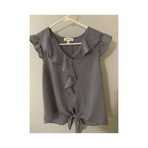 Striped short sleeve top from TJ Maxx